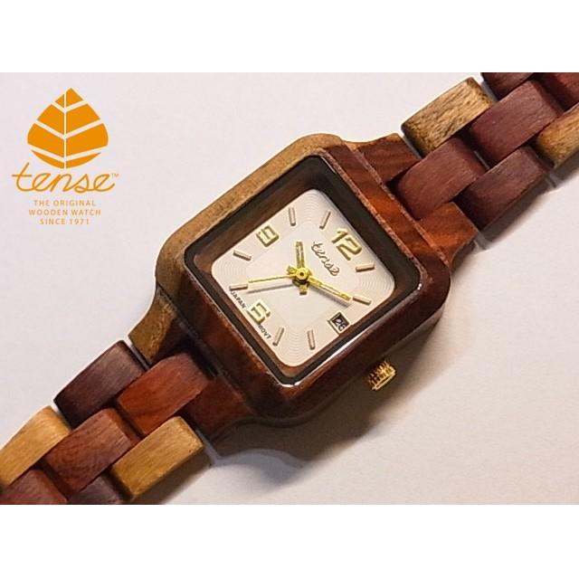 【正規品質保証】 カナダ製 Tense Tense ウッドウォッチ 木製 腕時計 レディース レディース 日本製ムーブメント 腕時計 安心の国内メンテナンス対応, BleeeK:294fc079 --- airmodconsu.dominiotemporario.com