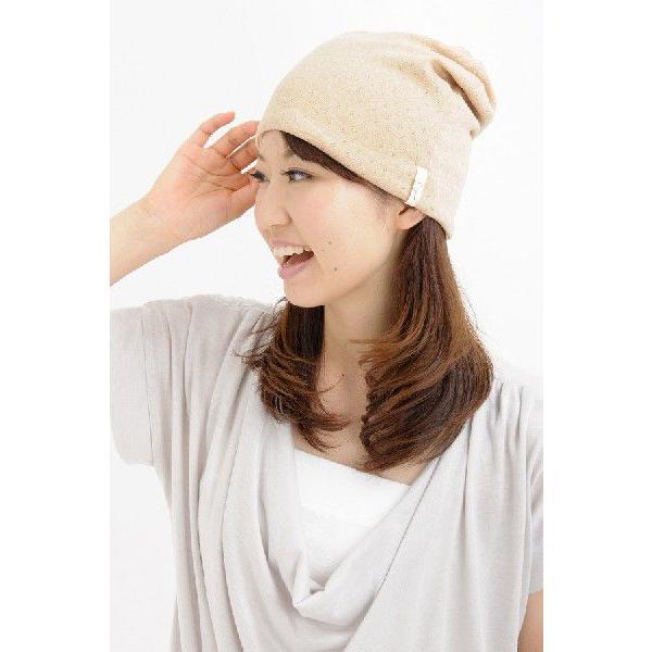 室内用帽子 オーガニックコットン無染色エリゼシャロット SIGN Flabel 日本製 NOC認定商品|canalsigncom|02