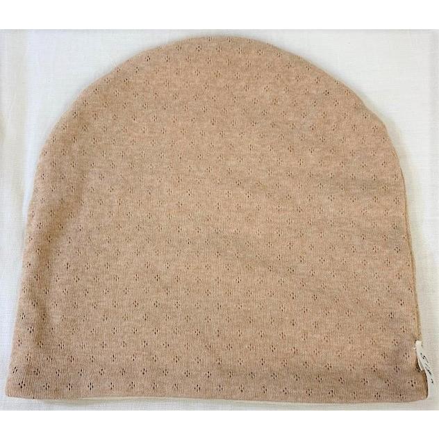 室内用帽子 オーガニックコットン無染色エリゼシャロット SIGN Flabel 日本製 NOC認定商品|canalsigncom|03