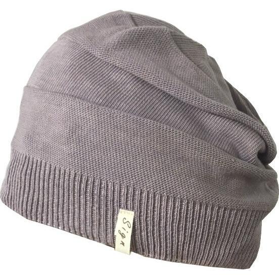 室内用帽子 草木染ニットワッチ 3色展開 オーガニックコットン混 SIGN FLABEL|canalsigncom|05