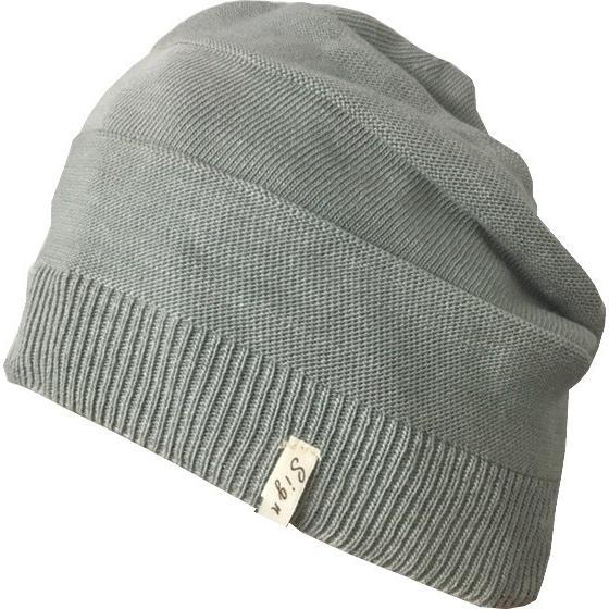 室内用帽子 草木染ニットワッチ 3色展開 オーガニックコットン混 SIGN FLABEL|canalsigncom|06