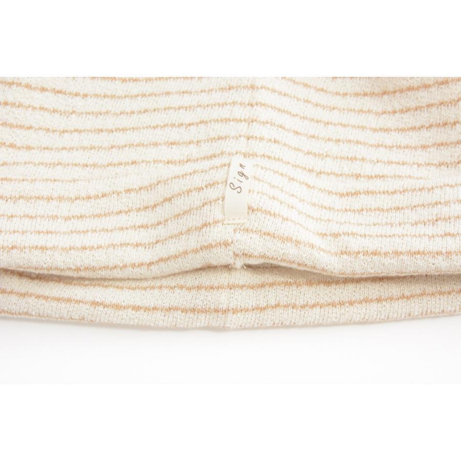 室内用帽子 オーガニックコットン無染色クレープロングワッチ NOC認定商品 日本製|canalsigncom|05