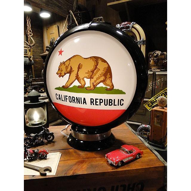 【全国送料無料】【即納】【在庫あり】 ガスランプ(カリフォルニア州旗) アメリカ雑貨 アメリカン雑貨