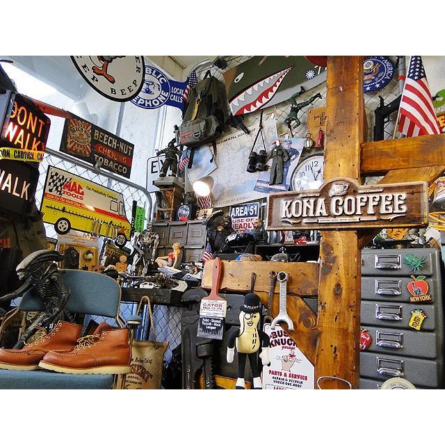 コナコーヒーのハワイアン・エンボスティンサイン ■ アメリカン雑貨 アメリカ雑貨 ブリキ看板|candytower|05