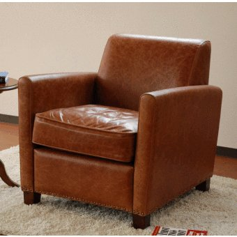 CA-0003BR CA-0003BR アンティーク ソファ 1P 椅子 送料無料 アンティークソファ 牛革 本革 レザーソファ 羽毛 アンティークソファ