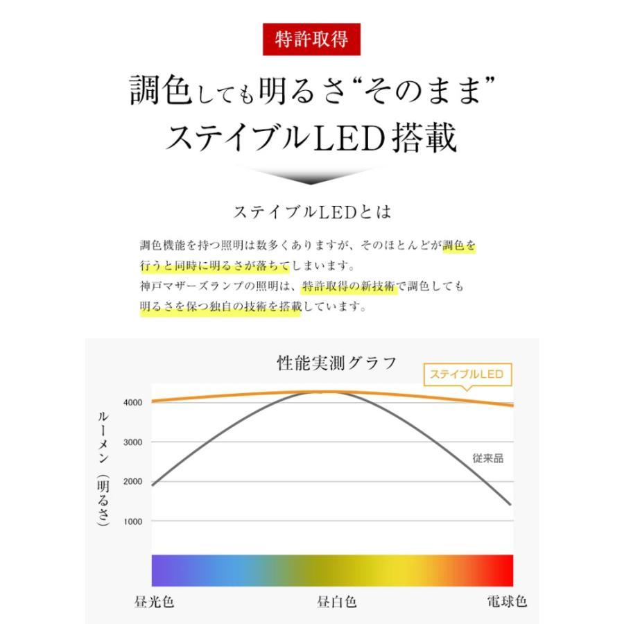 LED シーリングライト スポットライト おしゃれ 6畳 8畳  リモコン 明るい 調光 調色 北欧 クロスタイプ 木目 ナチュラル ホワイト 白 4灯  照明 天井 リビング|canffy|11