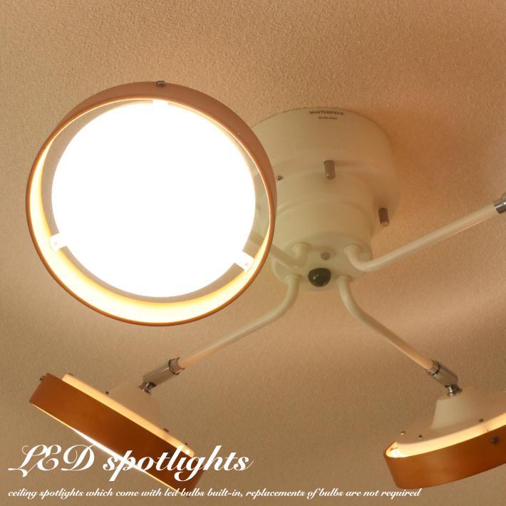 LED シーリングライト スポットライト おしゃれ 6畳 8畳  リモコン 明るい 調光 調色 北欧 クロスタイプ 木目 ナチュラル ホワイト 白 4灯  照明 天井 リビング|canffy|03
