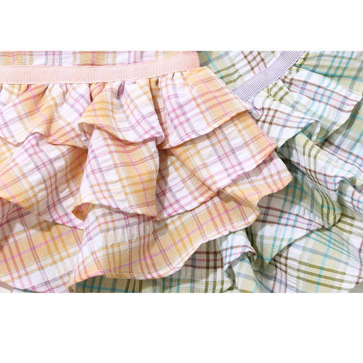 犬 服 犬服  春夏 チェック フリル ワンピース  犬の服 新作 きゃんナナ ドッグウェア ブランド|cannanaonline|09