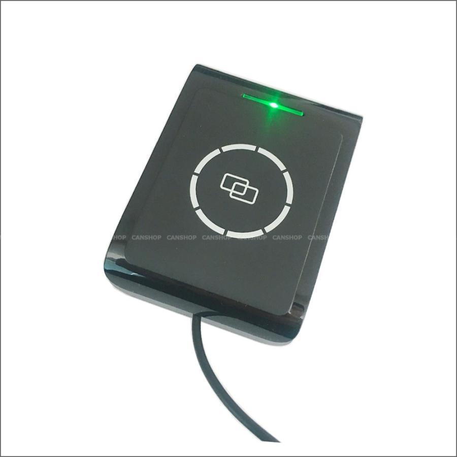 カードリーダー ライター 非接触 RFID iCode2  ISO15693 日本語プログラミングサポート・ 日本語取扱説明書・プログラミングガイド・カード2枚付 |canshop2|02