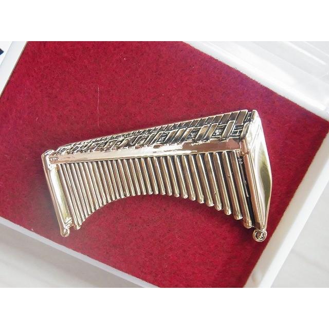 マリンバブローチ この商品はお取り寄せ商品です 記念品に最適ブローチ