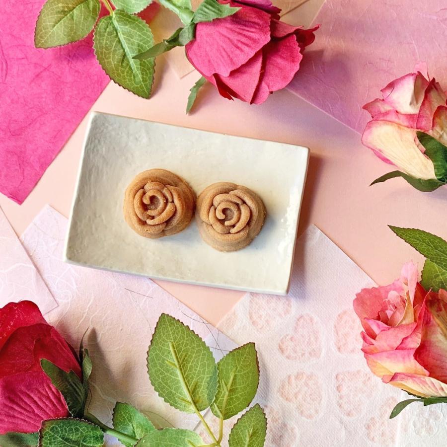 本物の薔薇の花を使った薔薇の花スイーツ・マドレーヌ4コ【クリックポスト送料無料】|cantik-manis111|02