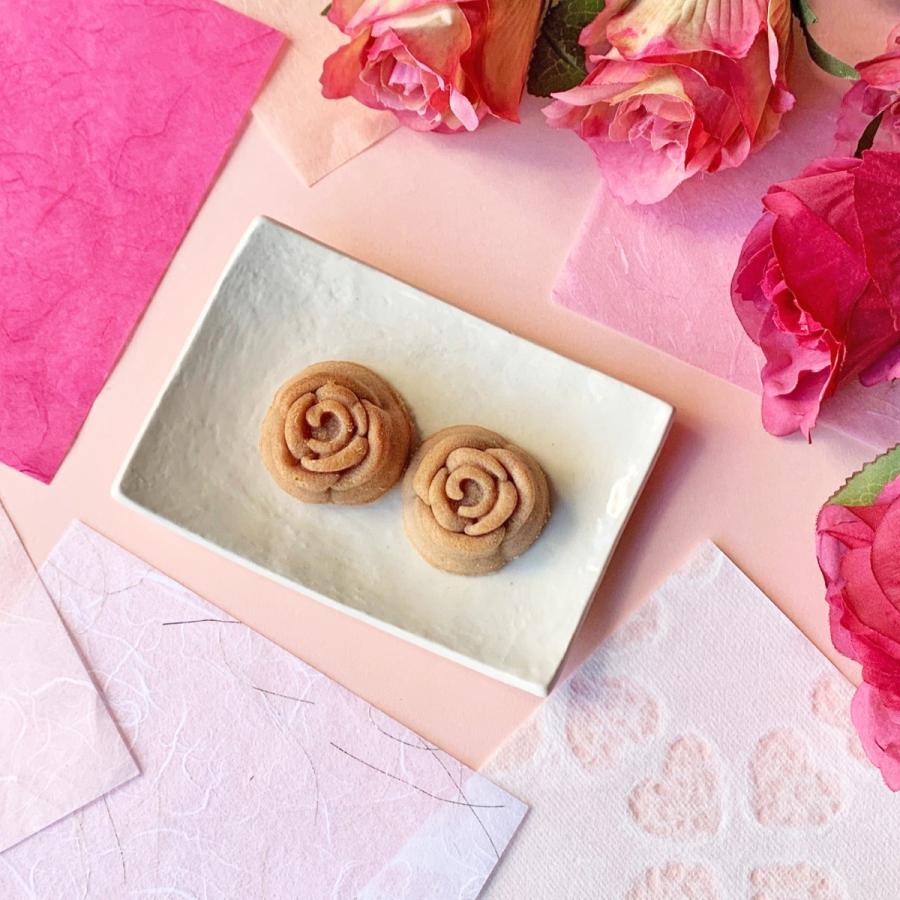 本物の薔薇の花を使った薔薇の花スイーツ・マドレーヌ4コ【クリックポスト送料無料】|cantik-manis111|04