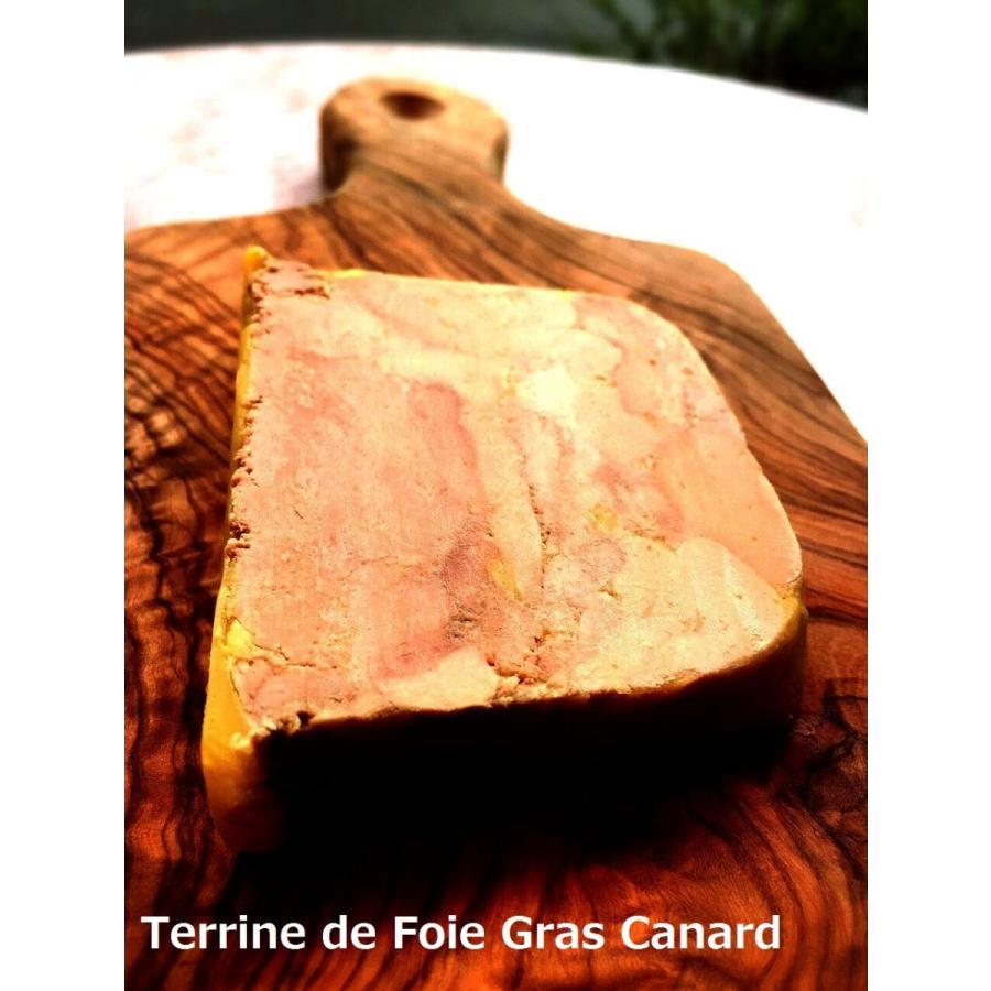 フレンチ お取り寄せ 鴨のフォワグラのテリーヌ cantine 03