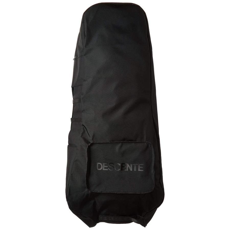 [デサントゴルフ] トラベルカバー DQBLJA70 BK00(ブラック) BK00(ブラック)