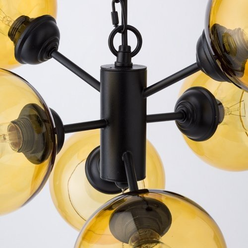 ハモサ HERMOSA ペンダントランプ GS-016 ムーン 6 多灯照明