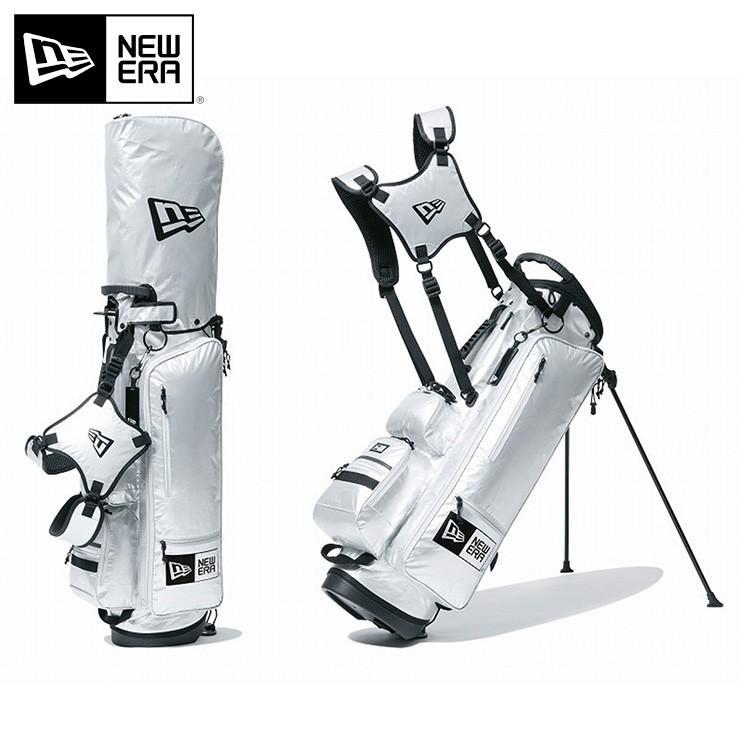 ニューエラ ゴルフ キャディーバッグ NEW ERA グレー メンズ レディース