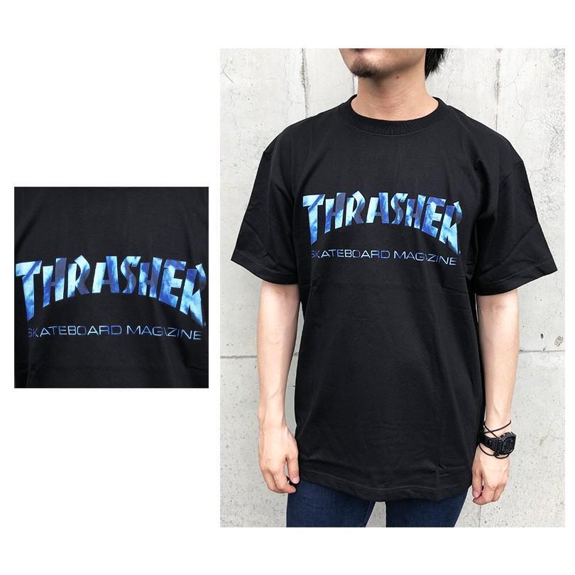ゆうパケット送料無料 スラッシャー Tシャツ メンズ レディース THRASHER マグ タイダイ MAG TIE DYE LOGO TEE capsule091 06