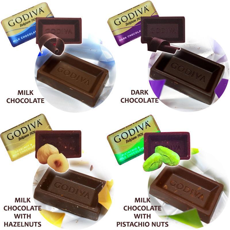 ゴディバ GODIVA ナポリタン 4種 アソート Napolitans 450g チョコレート chocolate コストコ costco クール便|caramelcafe|02