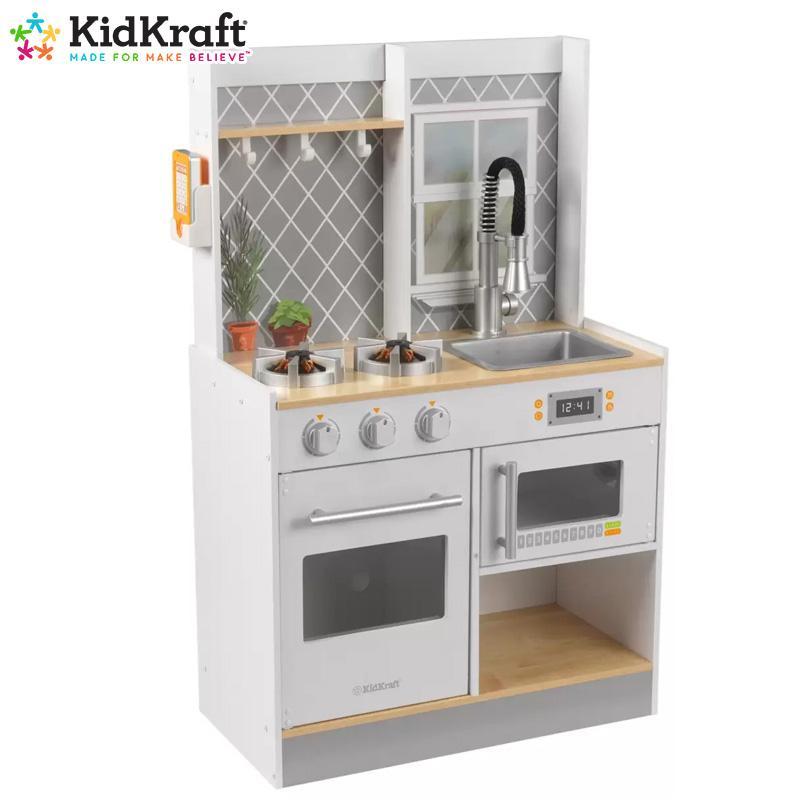 予約商品送料無料 KidKraft キッドクラフト バーナー付きプレイキッチン 木製 おままごとキッチン