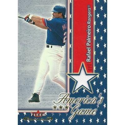 ラファエル・パルメイロ MLBカード Rafael Palmeiro 2002 Fleer ...