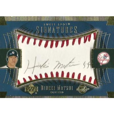 松井秀喜 MLBカード 2003 Sweet Spot Signatures 黒 Ink