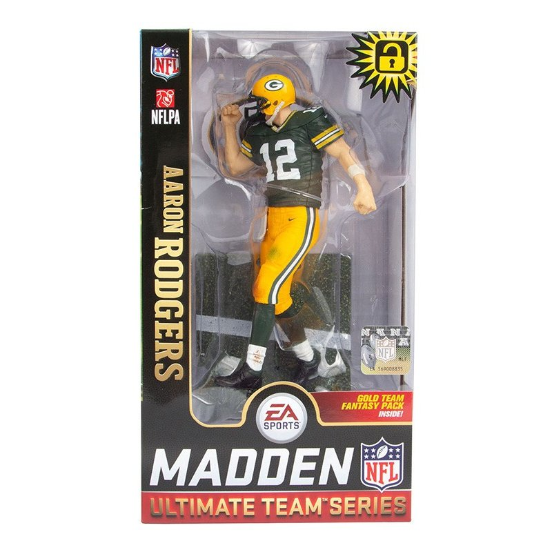 NFL EA SPORTS MADDEN 17 Ultimate Team Series 2 Aaron Rodgers Action Figure