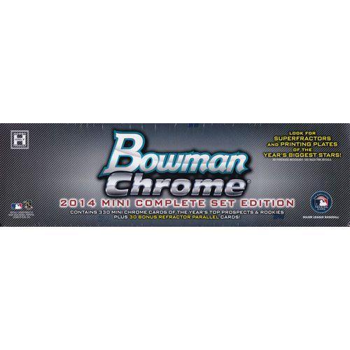 MLB 2014 Bowman Mini Chrome Baseball Complete セット(Set)