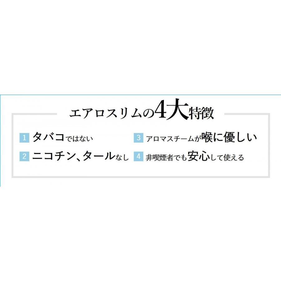 エアロスリム リフレッシュフレーバー(メンソール たばこ 梅)|careshop-lincle|03