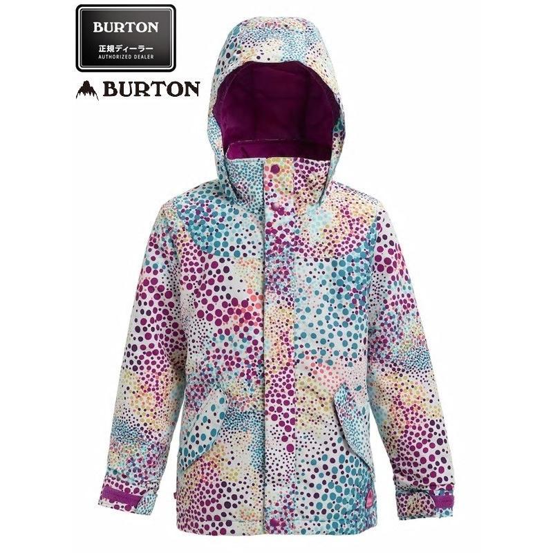 18-19' BURTON GIRLS ELODIE JACKET+Girls' Burton Elite Cargo Pant 上下セット Sサイズ 日本正規品、送料無料