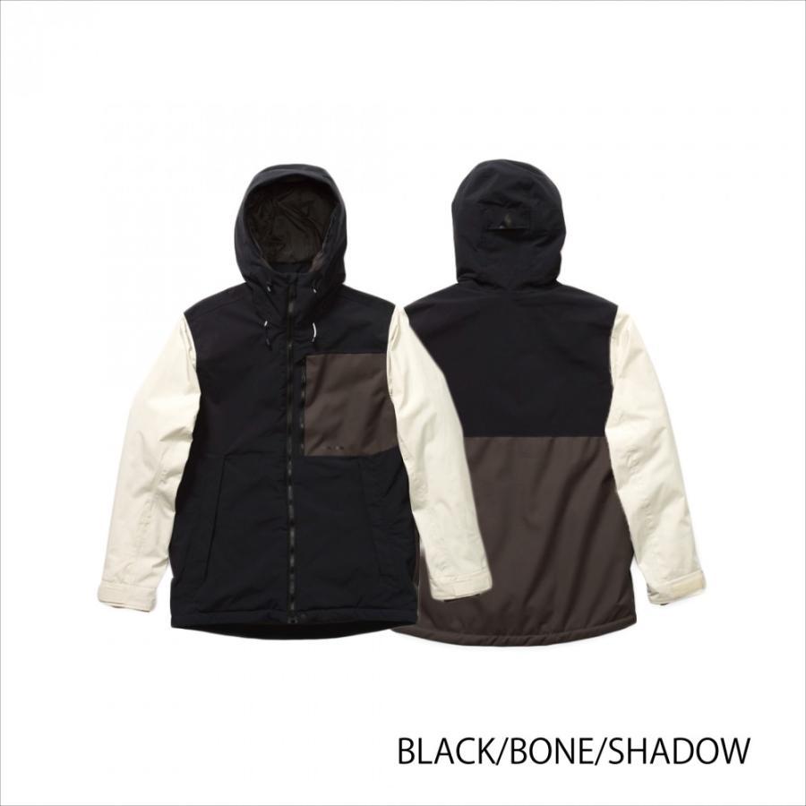 日本正規品18-19' HOLDEN OUTPOST JACKET 黒/BONE/SHADOW 送料無料 Mサイズ