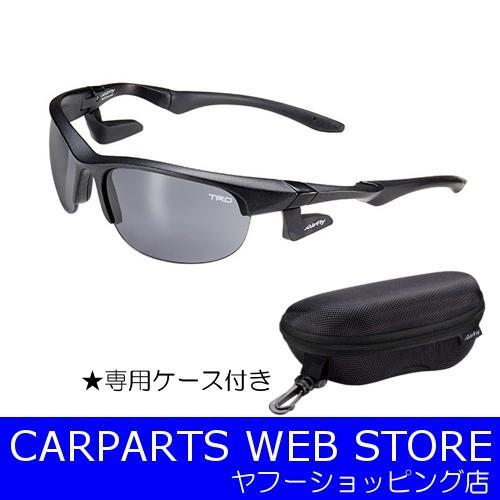 TRD COLLECTION(TRDコレクション) ノーズパッドレススポーツサングラス 専用ケース付き 品番:08773-SP078