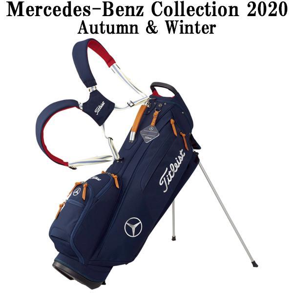 メルセデスベンツコレクション Mercedes-Benz × Titleist スタンドバッグ カジュアル ネイビー B91904851