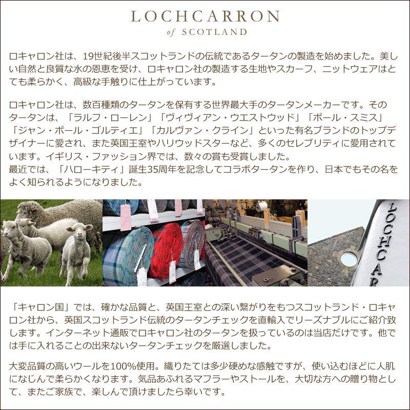 ネクタイ ブランド おしゃれ プレゼント メンズ タータンチェック柄 ロキャロン ウール100% 英国スコットランド製 Lochcarron of Scotland Men's brand carron 10