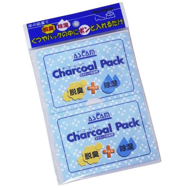 消臭剤 除湿剤脱臭 チャコールパック 靴・バッグ セラミック炭 10個セット bag ポイント消化 送料無料|carron