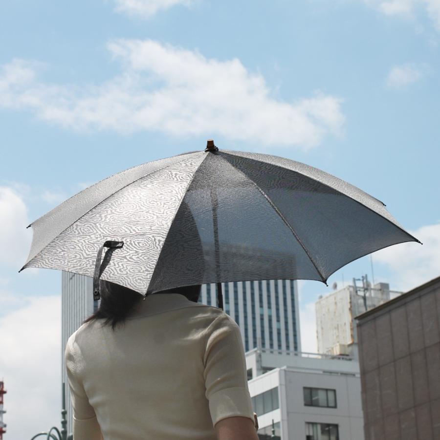 日傘 長傘 スパッタリング ヌーベルジャポネ スライド ショート傘 軽量 丈夫 UV レディース 日本製 メンズ Men's carron 03