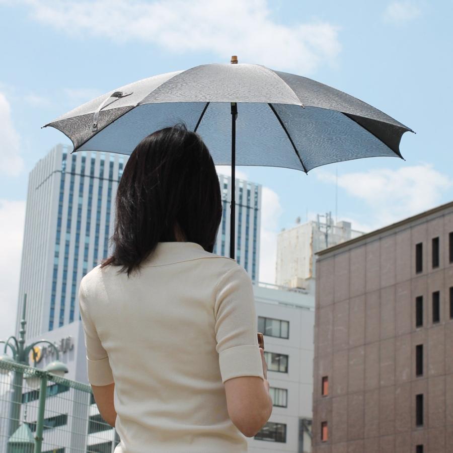 日傘 長傘 スパッタリング ヌーベルジャポネ スライド ショート傘 軽量 丈夫 UV レディース 日本製 メンズ Men's carron 04