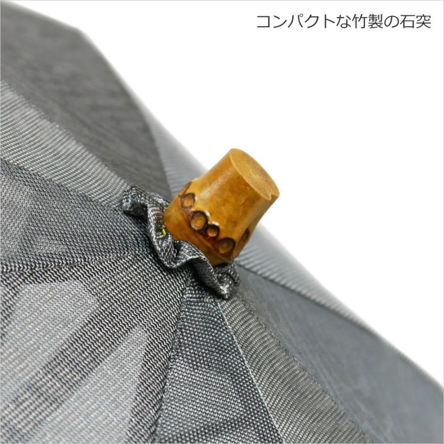 日傘 長傘 スパッタリング ヌーベルジャポネ スライド ショート傘 軽量 丈夫 UV レディース 日本製 メンズ Men's carron 06