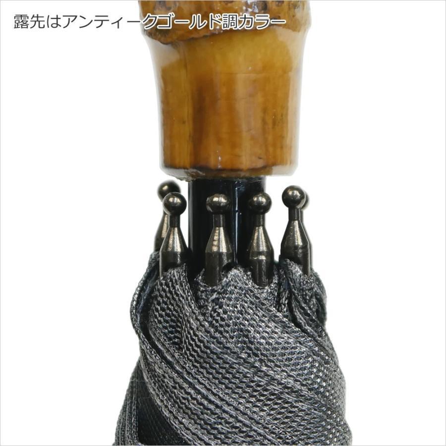 日傘 長傘 スパッタリング ヌーベルジャポネ スライド ショート傘 軽量 丈夫 UV レディース 日本製 メンズ Men's carron 08