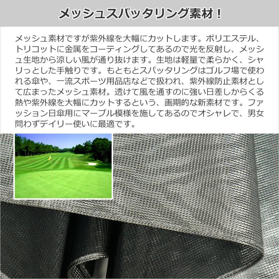 日傘 長傘 スパッタリング ヌーベルジャポネ スライド ショート傘 軽量 丈夫 UV レディース 日本製 メンズ Men's carron 10