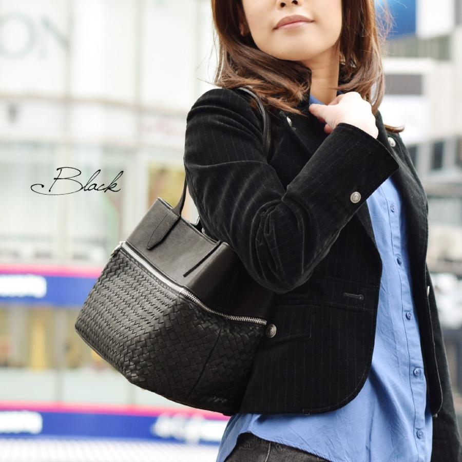 メッシュレザーバッグ トートバッグ レディース レディス 通勤 ショルダー A4 仕事 羊革 イタリア ブランド brand roberto pancani bag|carron|02