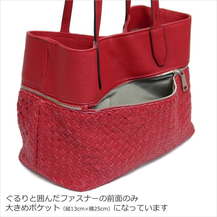 メッシュレザーバッグ トートバッグ レディース レディス 通勤 ショルダー A4 仕事 羊革 イタリア ブランド brand roberto pancani bag|carron|07