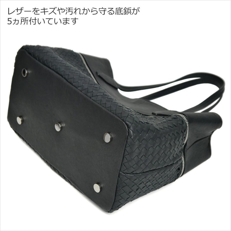 メッシュレザーバッグ トートバッグ レディース レディス 通勤 ショルダー A4 仕事 羊革 イタリア ブランド brand roberto pancani bag|carron|09