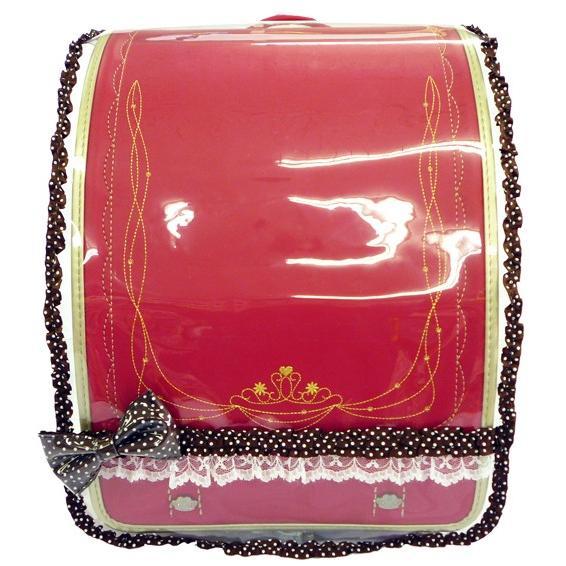 プリンセスアリス ミニ♪サテンリボン ランドセルカバー 透明 女の子 LLサイズ Lサイズ|carrot|07