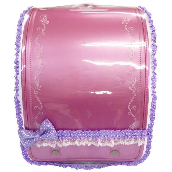 プリンセスアリス ミニ♪サテンリボン ランドセルカバー 透明 女の子 LLサイズ Lサイズ|carrot|09