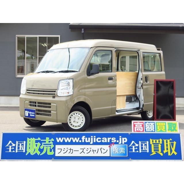 NV100クリッパー 移動販売車 キッチンカー 新規架装 2槽シンク カウンターテーブル|carsensor