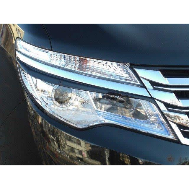 アイライン セレナ・セレナハイブリッド(後期) C26 H25.12〜 純正カラー塗装済み 左右セット※LED・ハロゲン共通
