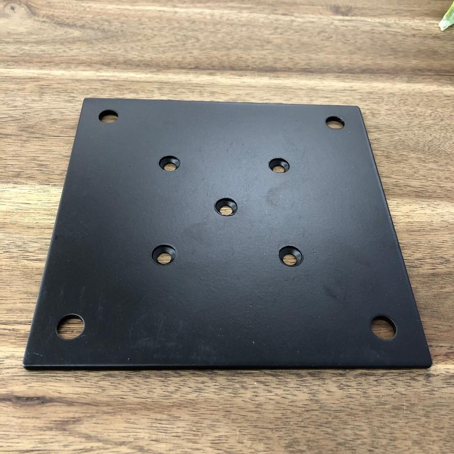 テーブル脚取付用 IKE 金属プレートセット 150 中央取り付けタイプ casa-rica 04