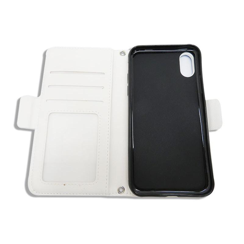 ドアラ 手帳型 携帯カバー ドアラ 寝そべり ブルー iPhone6/7/8 iPhone6/7/8Plus iPhoneX/Xs iPhone Xs Max iPhone XR case-ya 02