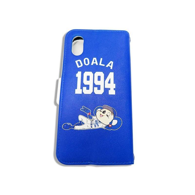 ドアラ 手帳型 携帯カバー ドアラ 寝そべり ブルー iPhone6/7/8 iPhone6/7/8Plus iPhoneX/Xs iPhone Xs Max iPhone XR case-ya 03