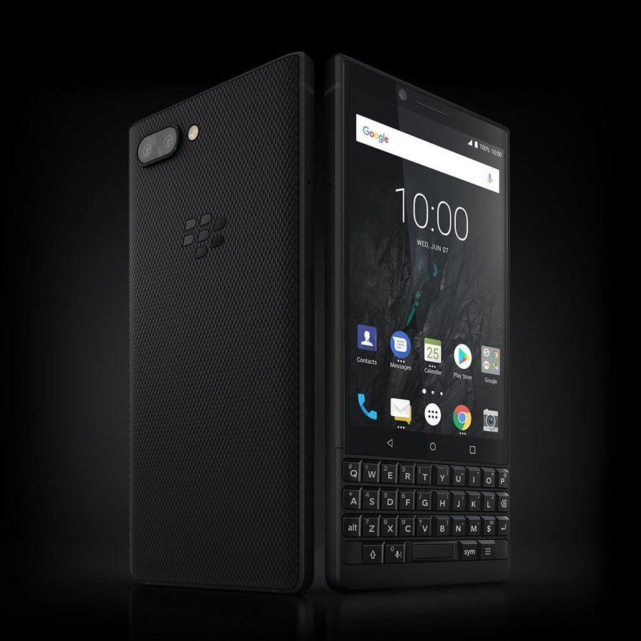 BlackBerry ブラックベリー スマホ SIMフリー KEY2 ブラック Android 8.1 4.5型 ストレージ:6GB/128GB nanoSIM×1 ドコモ/au/ソフトバンクSIM対応 caseplay 11